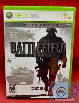 Battlefield Bad Company 2 Limited Edition Game & Original Case