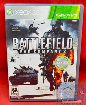 Battlefield Bad Company 2 Platinum Hits Edition Game & Original Case