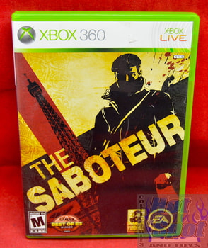 The Saboteur Game & Original Case