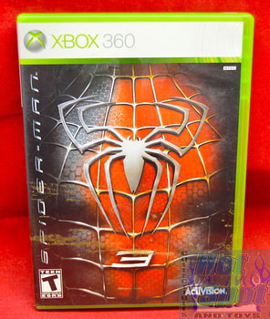 Spiderman 3 Game & Original Case