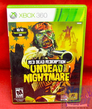 Red Dead Redemption Undead Nightmare Game CIB