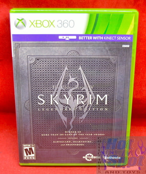 Skyrim Legendary Edition Game CIB