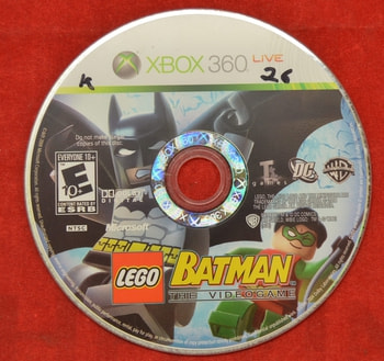 Lego Batman The Video Game Disc Only
