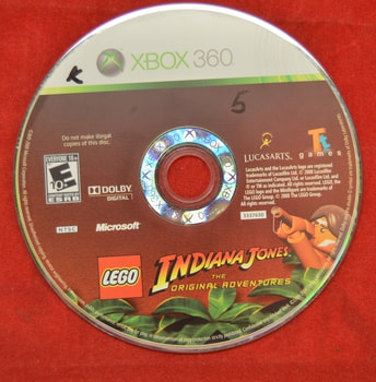 Lego Indiana Jone The original Adventures Game Disc Only