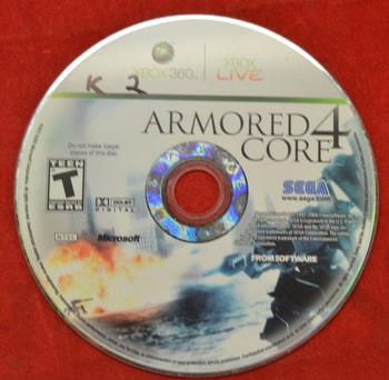 Armored Core 4 Disc Only