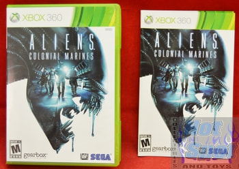 Aliens Colonial Marines CASE ONLY