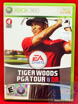 Tiger Woods PGA Tour 08 Game