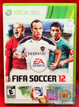 FIFA Soccer 12 Game