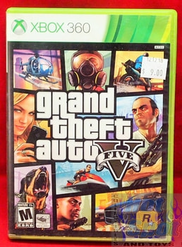 Grand Theft Auto Five Game