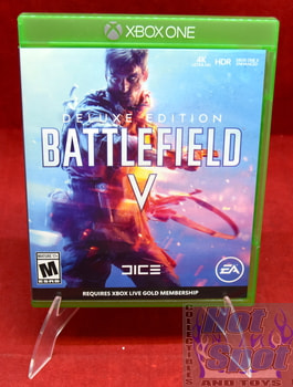 Battlefield V Deluxe Edition Original Case ONLY