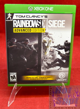 Tom Clancy's Rainbow Six Siege Advanced Edition Original Case ONLY