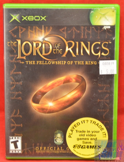 LOTR The Fellowship of the Ring Game