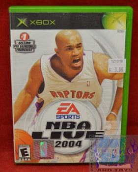 NBA Live 2004 Gamee