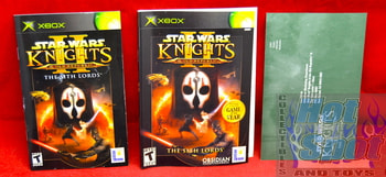 Star Wars Knights of the Old Republic II The Sith Lords Slip Cover, Booklet & Insert