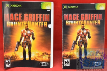 Mace Griffin Bounty Hunter Instructions Booklet and Slip Cover