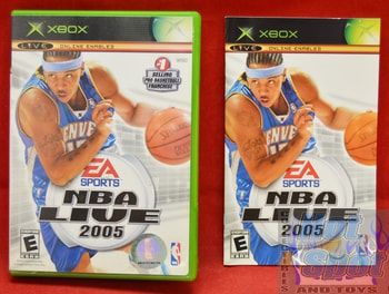 NBA Live 2005 CASE ONLY
